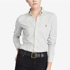 Ralph Lauren knit Oxford ladies shirt